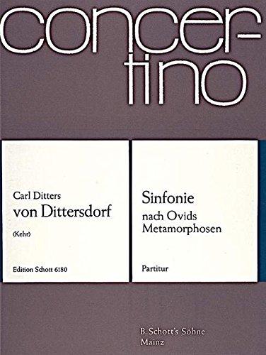 Sinfonie F-Dur: nach Ovids Metamorphosen. Orchester. Partitur. (Concertino)