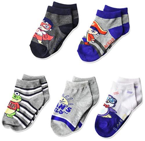 Ryan's World Boys 5 Pack Shorty Socks