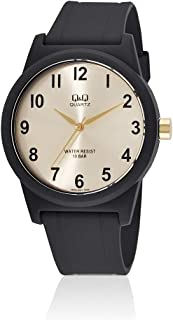 Watch for Women by Q&Q, Black, Rubber, VR35J021Y