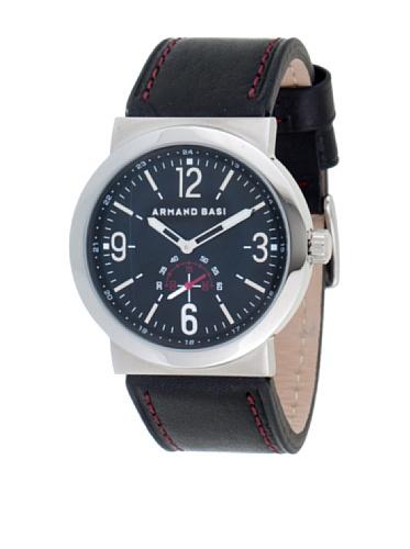 ARMAND BASI A0442G02 - Reloj de Caballero Movimiento de Cuarzo con Correa de Piel Marrón