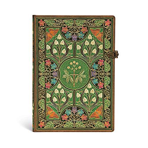 Paperblanks Blühende Poesie Notizbuch Midi Liniert (Poetry in Bloom)