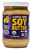 Don't Go Nuts Roasted Soybean Spread, Slightly Sweet, 2Count, Nut-Free Non GMO Organic (Grocery)
