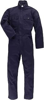 100/% Cotone Massaua P/&P Tuta Blu da Lavoro con Elastico ai Polsi per Elettricisti//Meccanici//Scuole Tecniche ECC.