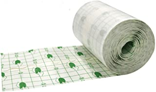 """Funwill Transparent Stretch Adhesive Bandage Tape Retention Dressing Tapes Wterproof Wound Tape- Hypoallergenic,Waterproof (3.93"""" x 10.93 Yards)"""