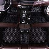 SADGE Alfombrillas De Cuero para Coche, Aptas para Porsche Taycan Panamera Alfombras Impermeables Personalizadas Alfombras Cobertura Completa Accesorio Interior