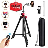 Best Iphone Tripods - TAIROAD 65-Inch Phone Tripod for iPhone Android Cell Review