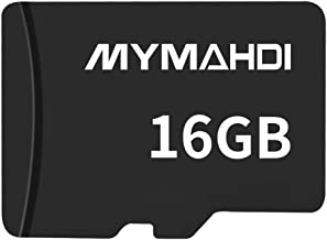 MYMAHDI COMINU059026 16G Micro SDHC Class 4 TF Memory Card with Micro SD Card Reader - Bulk Packed (D132)