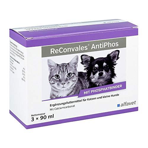 RECONVALES AntiPhos flüssig f.Hunde/Katzen 3X90 ml