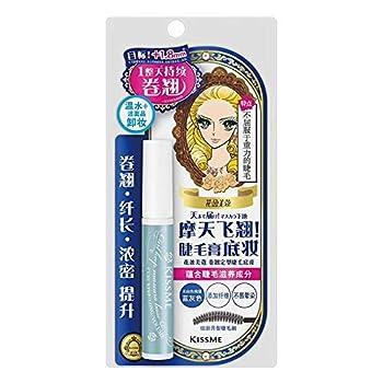 1 PC Japanese Kissme Blue Grey Long And Voluminous Ey Lash Makeup Base Cream Creating Long Curling Voluminous Lash Long Lasting No Smudge Water Proof Eye Makeup Tool