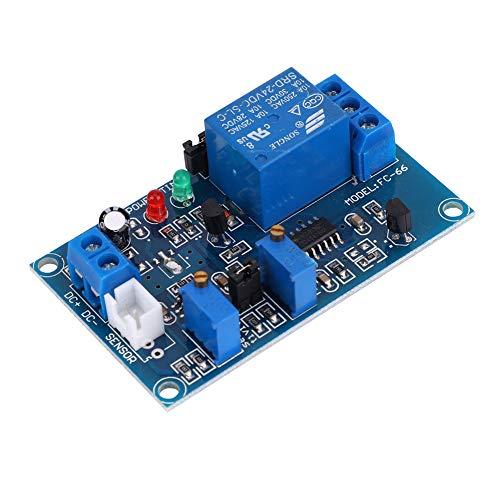 Módulo De Relé De Fotoresistor De 24 V CC, Interruptor De Control De Luz, Módulo De Relé De Fotoresistor De Retardo Ajustable, Sensor De Detección De Luz