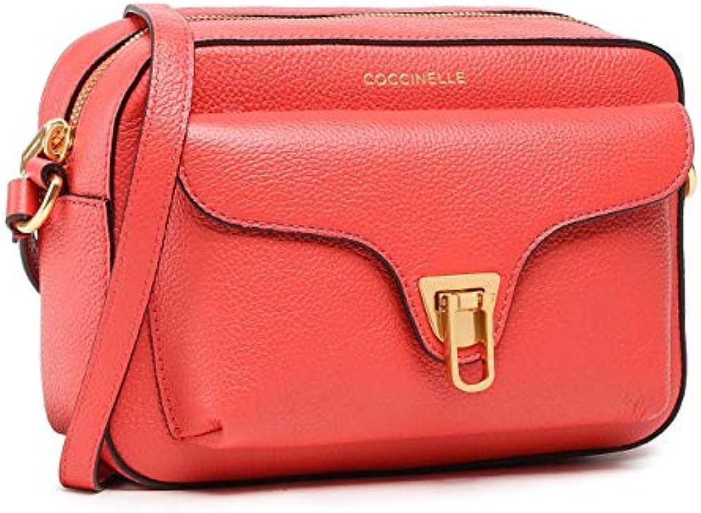 Coccinelle beat soft, borsa a tracolla per donna, in vera pelle E1HF6550401R34