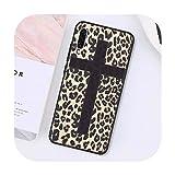 Phone cover Coque de protection pour Samsung Galaxy S8 - Motif léopard et tigre - Pour Samsung S 7...
