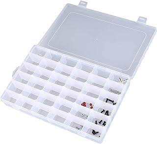 Elviray Bo/îtes de Rangement protectrices de Batterie en Plastique Dur Cas de Support pour la bo/îte de Protection Transparente de Batterie Rechargeable 18650