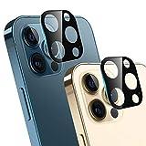 Ossky Protettore Lente Fotocamera Posteriore per iPhone 12 PRO, Pellicola Protettiva in Vetro temperato Copertura della Fotocamera del Telefono Cellulare, Scratch Resistente(2 Pezzi )