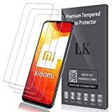LK Protector de Pantalla para Xiaomi Mi 10 Lite Cristal Templado, [3 Pack] [9H Dureza] [Resistente a Arañazos] Vidrio Templado Protector Pantalla para Xiaomi Mi 10 Lite