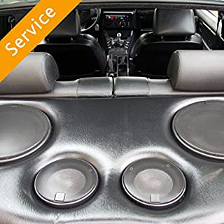 Car Component Speaker Installation - In-Store