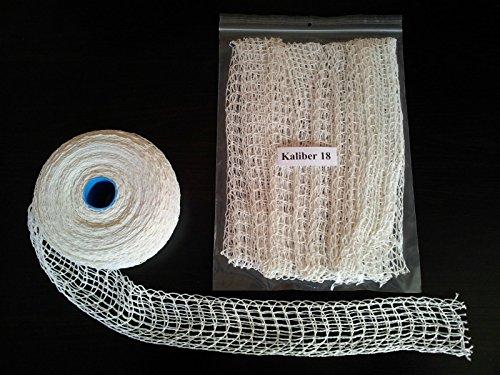 5m Kaliber 18 Bratennetz / Rollbratennetz / Räuchernetz für Einfüllrohr mit einem Durchmesser von ca. 145 mm