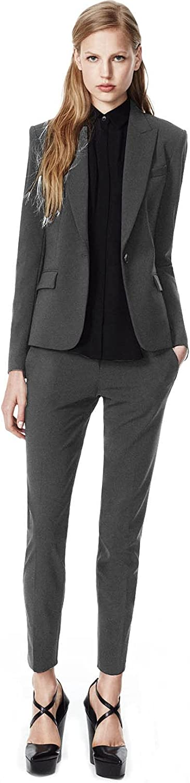 JYDress Women's Two-Piece Suit Pants Sets Formal Business Office Blazer&Pants Work Wear for Women