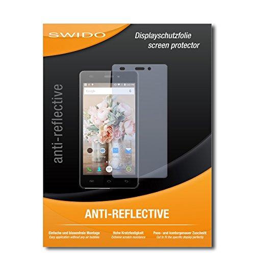 SWIDO Bildschirmschutzfolie für Doogee X5 [3 Stück] Anti-Reflex MATT Entspiegelnd, Extrem Kratzfest, Schutz vor Kratzer/Bildschirmschutz, Schutzfolie, Panzerfolie