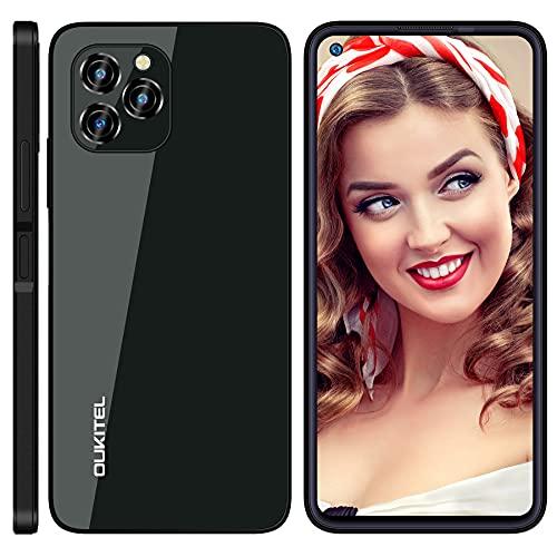 Android 11 Dual SIM OUKITEL C21 Pro Cellulare, 6,39 pollici HD+ 4GB 64GB (SD 256GB) Smartphone, 21MP 8MP Fotocamera, Batteria 4000 mAh Telefoni Cellulari, Face ID Fingerprint Telefono Economico Nero