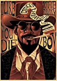 Quentin Tarantino Serie Film Django Unchained Poster
