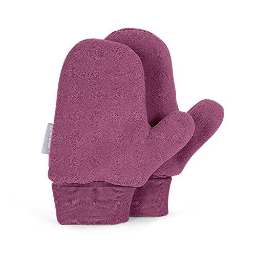 Sterntaler Sterntaler - Baby Mädchen Faust Handschuhe, himbeer - 4301620h, Größe 4