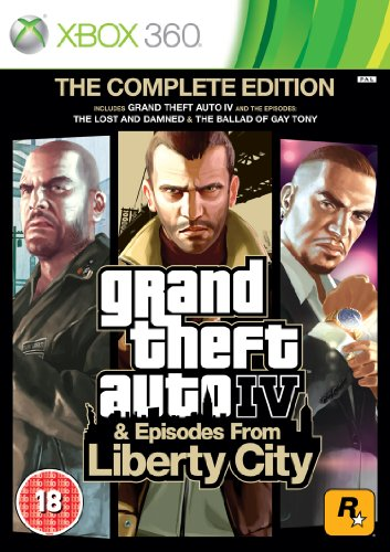 [Import Anglais]Grand Theft Auto IV 4 GTA Complete Edition Game XBOX 360