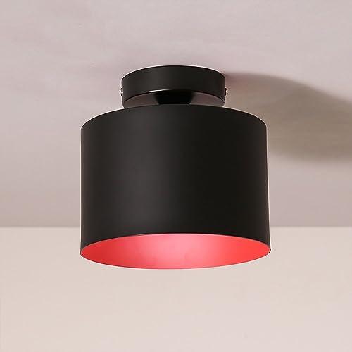 Eclairage de plafond Style américain Simple Rétro Chambre Balcon Balcon Boule Plafonnier Lumière éclairage (couleur   Lumière blanche)