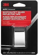 """3M Scotchlite Reflective Tape, Silver, 1"""" by 36"""""""
