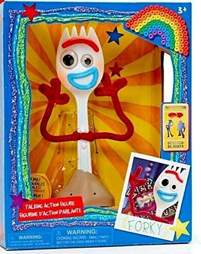 Talking Action Figure Disney Toy Story 4 Forky Toy Detector 19cm