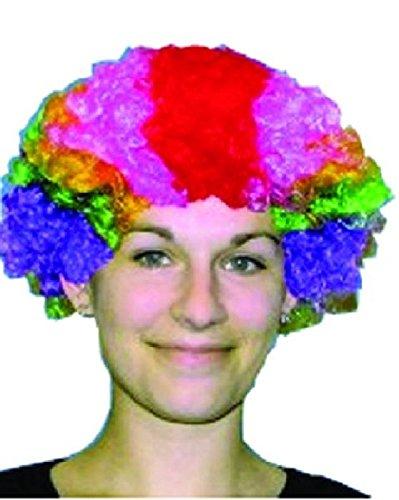 Mondial-Fete - Perruque Pop Multicolore
