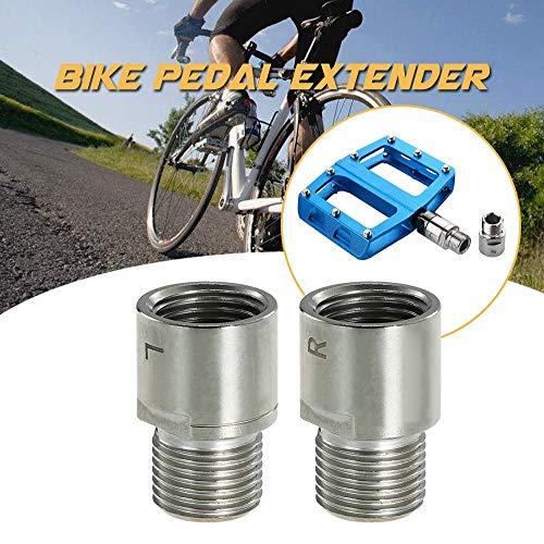 """Fahrrad Pedal Extender, Fahrrad Pedal Distanz-Verlängerung, 9/16\"""" Pedal Adapter Distanzhalter, MTB Pedal Fahrrad BMX Mountainbike Pedal Verlängerung Schraube Fahrrad Teil Lager Zubehör"""
