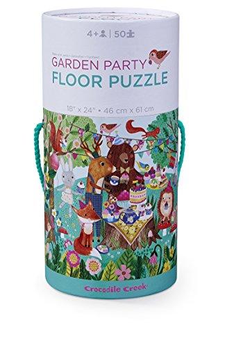 Crocodile Creek- Garden Party Jigsaw Floor Puzzle Rompecabezas de Piso (4050-4) (Juguete)