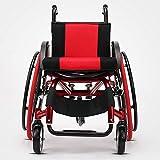 SUN RNPP Accessoires pour fauteuils roulants et scooters électriques Fauteuil Roulant Alliage d'aluminium Ultra-léger amortissant Portable Se Pliant détachable