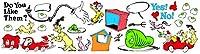 [エウレカ]Eureka Paper Magic Dr. Seuss Green Eggs and Ham Bulletin Board Sets 847223 [並行輸入品]