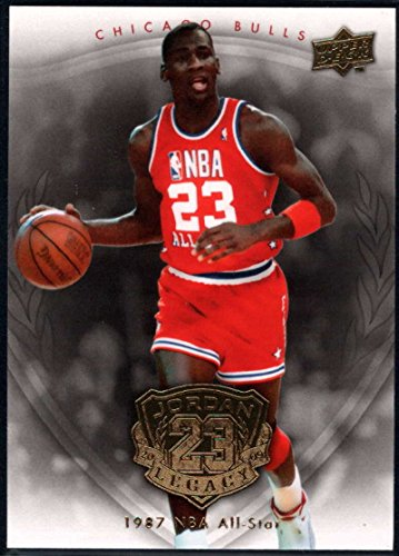 Basketball NBA 2009-10 Upper Deck Michael Jordan Legacy Hall Of Fame Edition #17 Michael Jordan NM-M