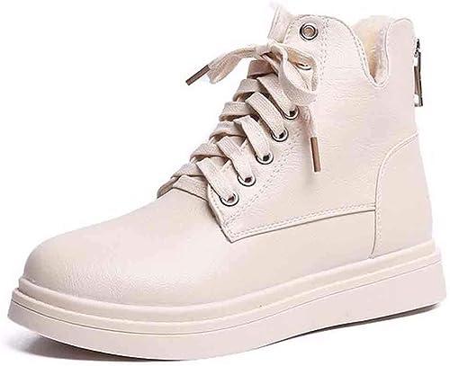 KOKQSX-Bottes pour Les Les dames série Chefs Mode Martin Chaussures