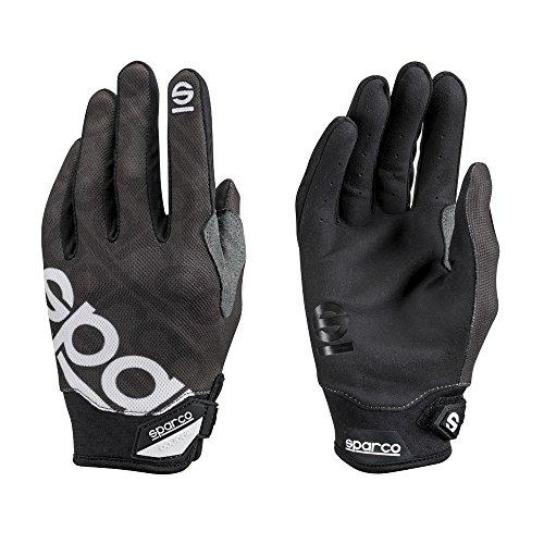 Sparco 002093NR3L Handschuhe Meca 3 Tg. L, Schwarz, L