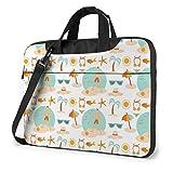 Nice Summer Laptop Bag 15,6 Pouces épaule Messenger Bag Computer Tote Briefcase for Work School
