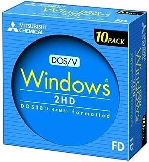 三菱化学 2HDV10EC 2HD DOS/Vフォーマット 10枚