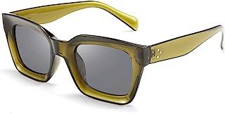 FEISEDY Classic Women Sunglasses Fashion Thick Square Frame UV400 B2471