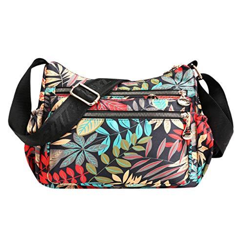 Darringls Borse a Spalla Donna Borsa a Tracolla Crossbody 2019 Nuovo Zaino antifurto Elegante Borse a Mano con Tracolla Multifunctional Nylon Messenger Bags