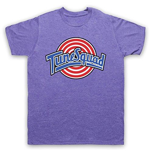 Inspirado por Space Jam Tune Squad No Oficial Camiseta para Hombre, Morado Clásico, 2XL