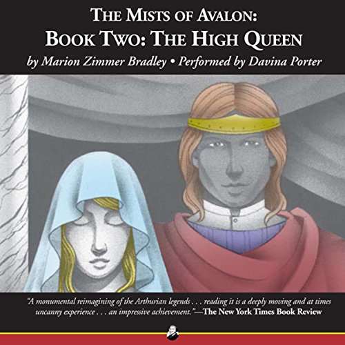 The High Queen audiobook cover art