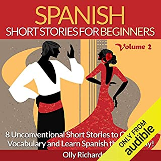 Couverture de Spanish Short Stories for Beginners, Volume 2