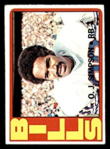 1972 Topps #160 O.J. Simpson Very Good Bills