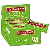 Larabar Apple Pie, Gluten Free Vegan Fruit & Nut Bar, 1.6 oz Bars, 16 Ct