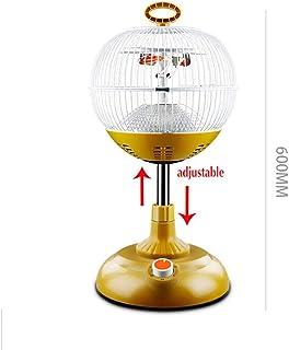 RUIX Calefactor - Calentador De Ventilador De Elevación Doméstica, Ajuste De 2 Velocidades, Calefacción De 360 °, 1000W / 220V