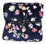Vera Bradley Throw Blanket Scattered Wildflowers