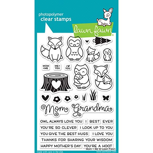 Lawn Fawn Clear Stamps - Mom + Me (LF1134)